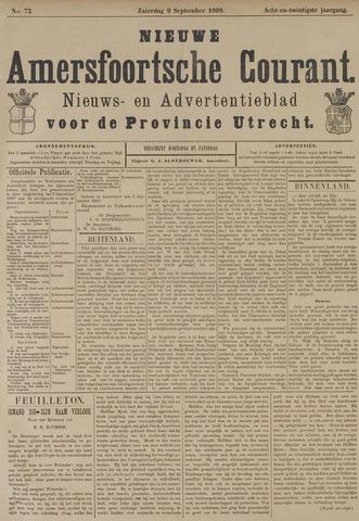 Nieuwe Amersfoortsche Courant 1899-09-09
