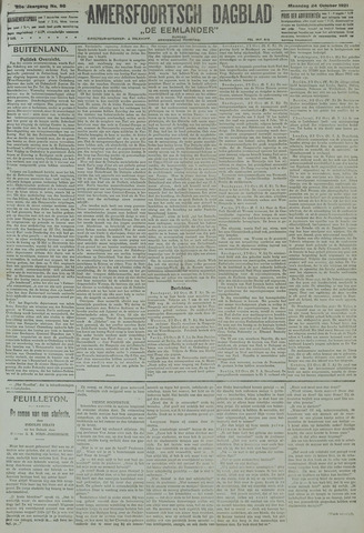 Amersfoortsch Dagblad / De Eemlander 1921-10-24
