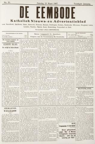 De Eembode 1907-03-23