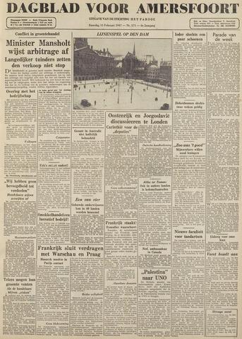 Dagblad voor Amersfoort 1947-02-15