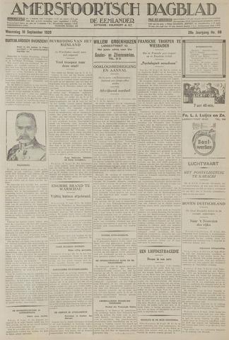 Amersfoortsch Dagblad / De Eemlander 1929-09-18