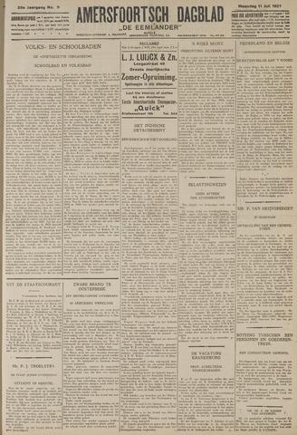 Amersfoortsch Dagblad / De Eemlander 1927-07-11