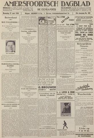 Amersfoortsch Dagblad / De Eemlander 1934-06-27