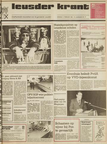 Leusder Krant 1986-02-11