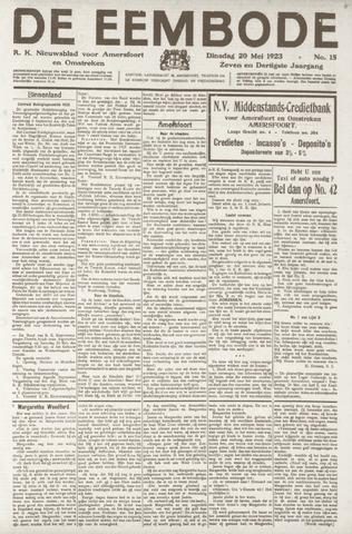 De Eembode 1923-05-22