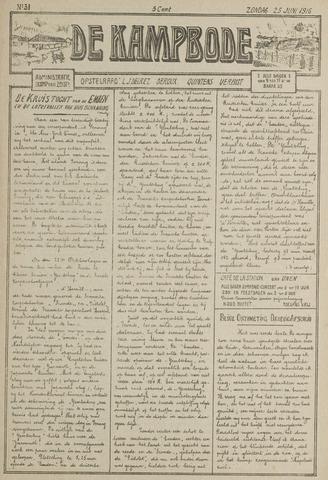 De Kampbode 1916-06-25
