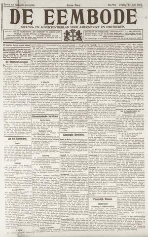 De Eembode 1913-06-13