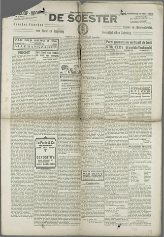 Soester Courant 1925-10-31
