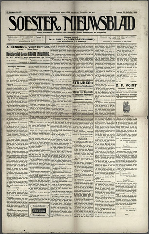 Soester Courant 1923-09-22
