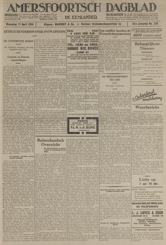 Amersfoortsch Dagblad / De Eemlander 1934-04-11