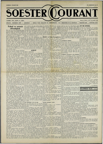 Soester Courant 1960-03-01