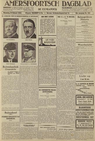 Amersfoortsch Dagblad / De Eemlander 1932-02-24