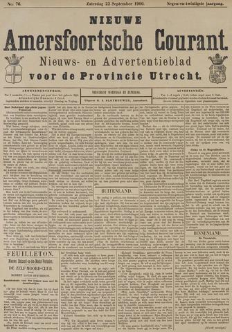 Nieuwe Amersfoortsche Courant 1900-09-22