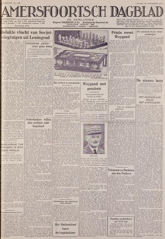 Amersfoortsch Dagblad / De Eemlander 1941-11-21