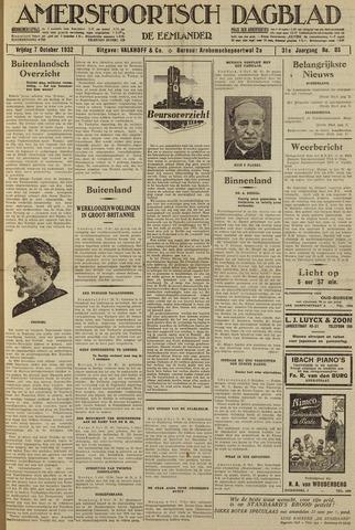 Amersfoortsch Dagblad / De Eemlander 1932-10-07