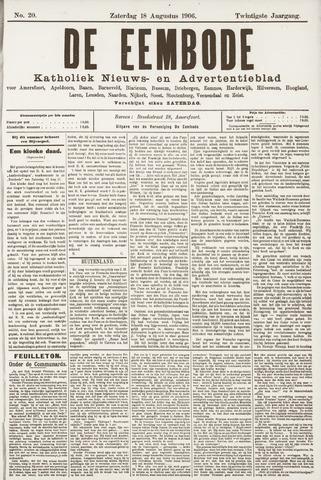 De Eembode 1906-08-18