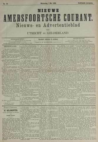 Nieuwe Amersfoortsche Courant 1889-05-01