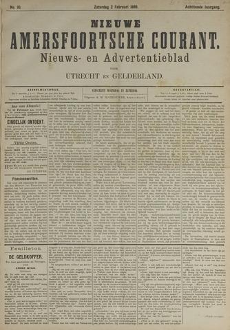 Nieuwe Amersfoortsche Courant 1889-02-02