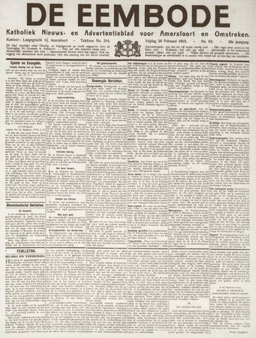 De Eembode 1915-02-26