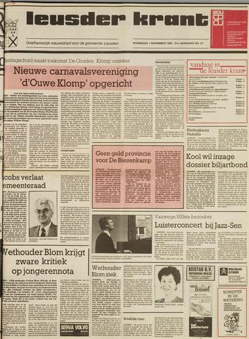 Leusder Krant 1989-11-01