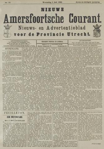 Nieuwe Amersfoortsche Courant 1908-07-01