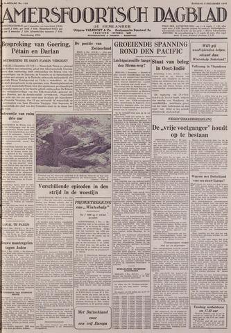 Amersfoortsch Dagblad / De Eemlander 1941-12-02