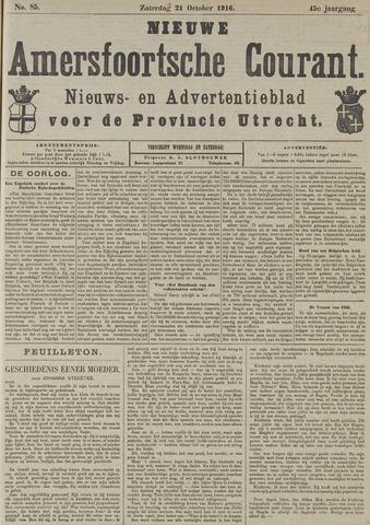 Nieuwe Amersfoortsche Courant 1916-10-21