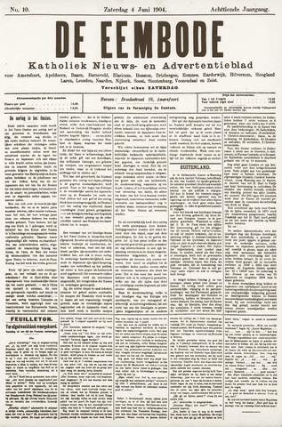 De Eembode 1904-06-04