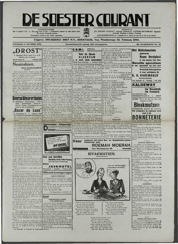 Soester Courant 1936-10-06
