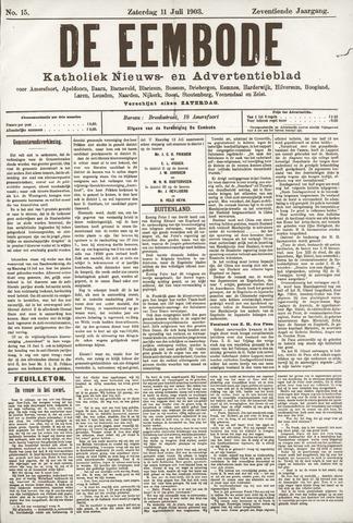 De Eembode 1903-07-11