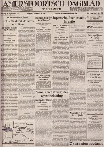 Amersfoortsch Dagblad / De Eemlander 1937-09-03