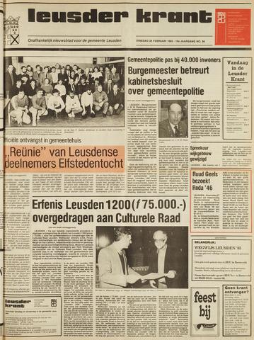 Leusder Krant 1985-02-26