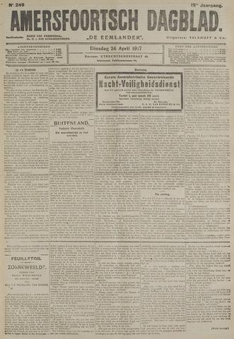 Amersfoortsch Dagblad / De Eemlander 1917-04-24