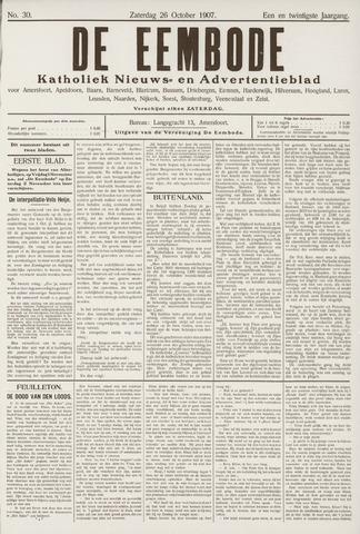 De Eembode 1907-10-26