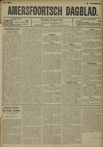 Amersfoortsch Dagblad 1907-04-16
