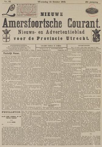 Nieuwe Amersfoortsche Courant 1913-10-15