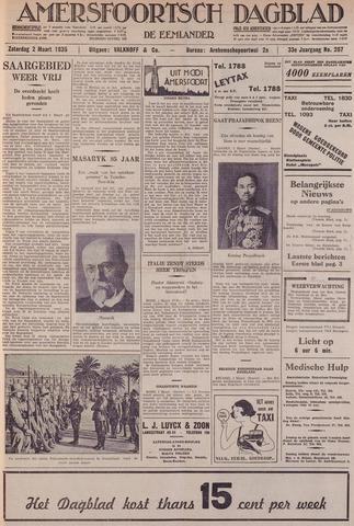 Amersfoortsch Dagblad / De Eemlander 1935-03-02
