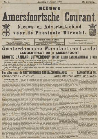Nieuwe Amersfoortsche Courant 1920-01-03