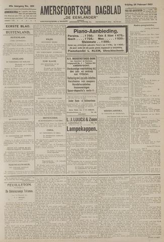Amersfoortsch Dagblad / De Eemlander 1927-02-25