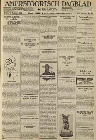 Amersfoortsch Dagblad / De Eemlander 1932-08-12