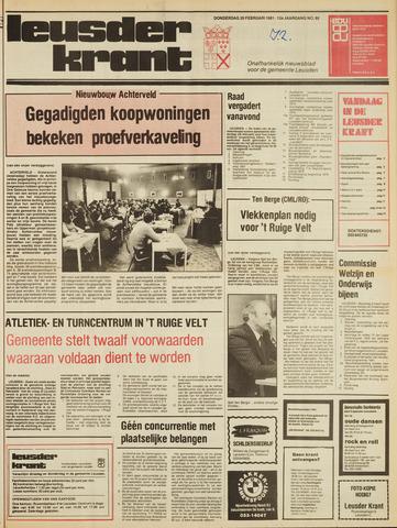 Leusder Krant 1981-02-26