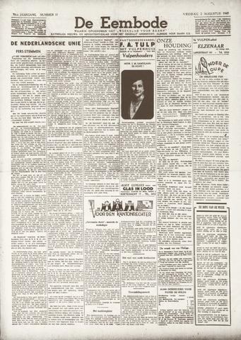 De Eembode 1940-08-02