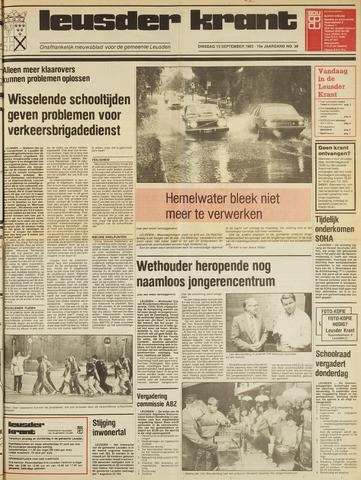 Leusder Krant 1983-09-13