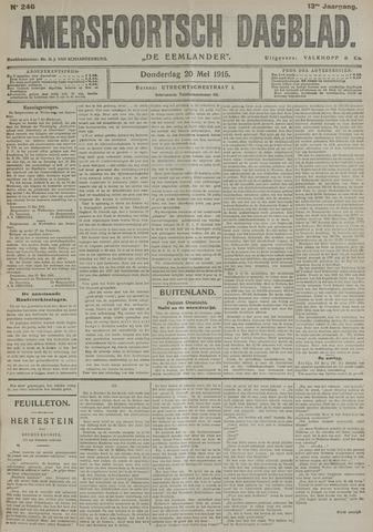 Amersfoortsch Dagblad / De Eemlander 1915-05-20