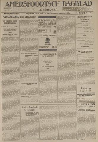 Amersfoortsch Dagblad / De Eemlander 1933-05-15