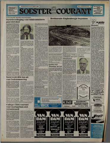 Soester Courant 1985-10-30