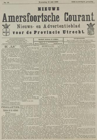 Nieuwe Amersfoortsche Courant 1909-07-21