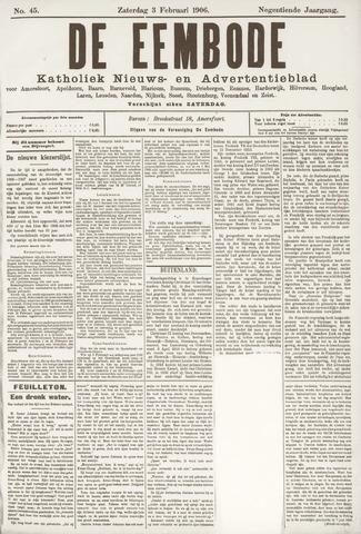 De Eembode 1906-02-03