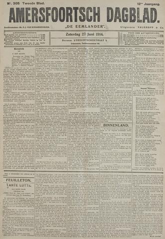 Amersfoortsch Dagblad / De Eemlander 1914-06-28