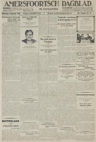 Amersfoortsch Dagblad / De Eemlander 1930-08-06